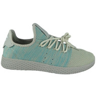 Ashe Multi Lace Up Flat Trainers
