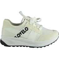 Mona White Light Sports Trainers