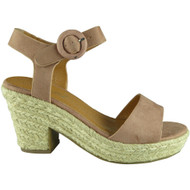 Hylda Pink Wedge Summer Sandals