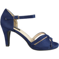 Fary Blue High Heel Party Sandals
