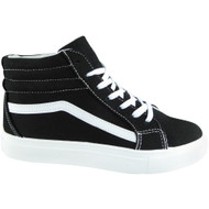 Jesica Black/White Gym Sports Shoes