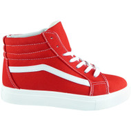 Jesica Red Gym Sports Shoes