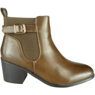 Caryn Brown Chelsea Zip Smart Shoes