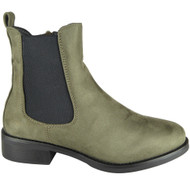 Fair Green Chelsea Ankle Boots