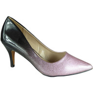 Lindy Pink Pointy Party Shoes