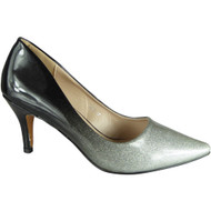 Lindy Silver Pointy Party Shoes