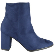 Netty Blue High Heel Pointy Shoes
