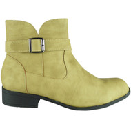 Rodha Tan Zip Smart Ankle Boot