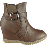 Jamie Brown Ankle Zip Winter Fashion Shoes