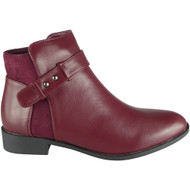 Jayme Wine Chelsea Winter Comfy Shoes
