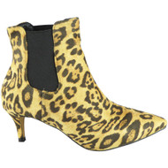 Cathryn Leopard Low Heel Fashion Casual Shoes