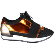 Emmet Champagne Comfy Trainers