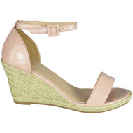 Carolina Pink High Heel Summer Sandals