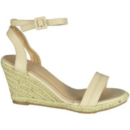 Carline Beige High Heel Summer Sandals