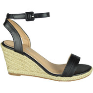 Carline Black High Heel Summer Sandals