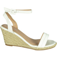 Carline White High Heel Summer Sandals