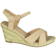 Lynne Beige High Heel Summer Sandals