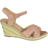 Lynne Pink High Heel Summer Sandals