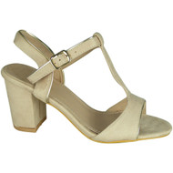 Conny Beige Party Casual Summer Sandals
