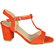 Conny Orange Party Casual Summer Sandals