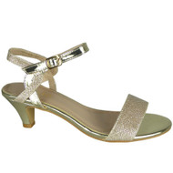Danny Gold Wedding Bridal Party Sandals