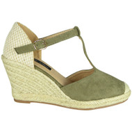 Elaine Green Espadrilles Summer Sandals