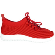 Stacia Red Fitness Light Comfy Shoes