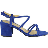 Lally Blue Party Wedding Going Out Sandals