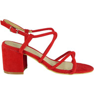 Lally Red Party Wedding Going Out Sandals