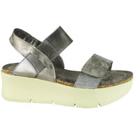 Jamesina Pewter Summer Strappy Sandals