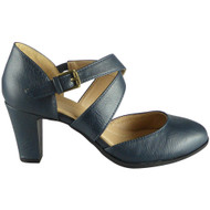 Josey Navy Mary Jane Comfy Sandals