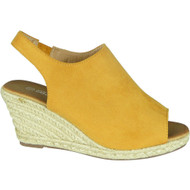 Julia Yellow Summer High Heel Sandals