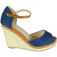 Katrina Blue Summer High Heel Sandals