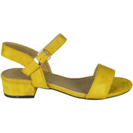 Kristie Yellow Summer Comfy Party Sandals