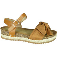 Krista Camel Summer Comfy Hessian Sandals
