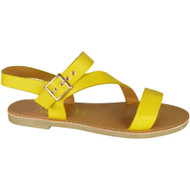 Laurene Yellow Summer Comfy Sandals