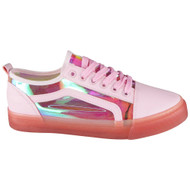 Latvian Pink Fitness Gym Perspex Trainers