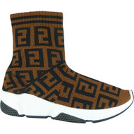 Traci Brown Slip On Sock Shoes