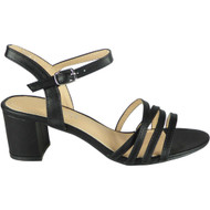 Linda Black Summer Comfy Bridal Party Sandals