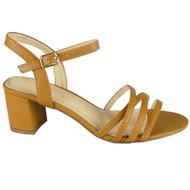 Linda Camel Summer Comfy Bridal Party Sandals