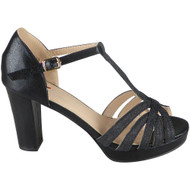Kristi Black Wedding Party Sandals