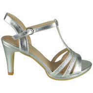 Summer Silver Bridesmaid Party Shoes