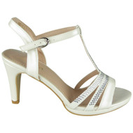 Summer White Bridesmaid Party Shoes