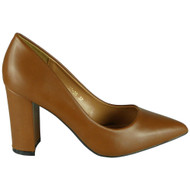 Sawyer Camel Briday Party Court shoes