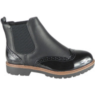 Kensley New Black Slip On Chelsea Ankle Boots