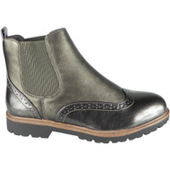 Kensley New Grey Slip On Chelsea Ankle Boots