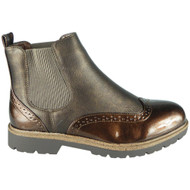 Kensley Brown Slip On Chelsea Ankle Boots