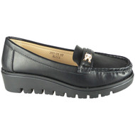 Makanzie Black Lightweight Loafer Work shoes