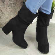 Serena Black Ankle Boots