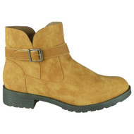 Rodha Camel Zip Smart Ankle Boot